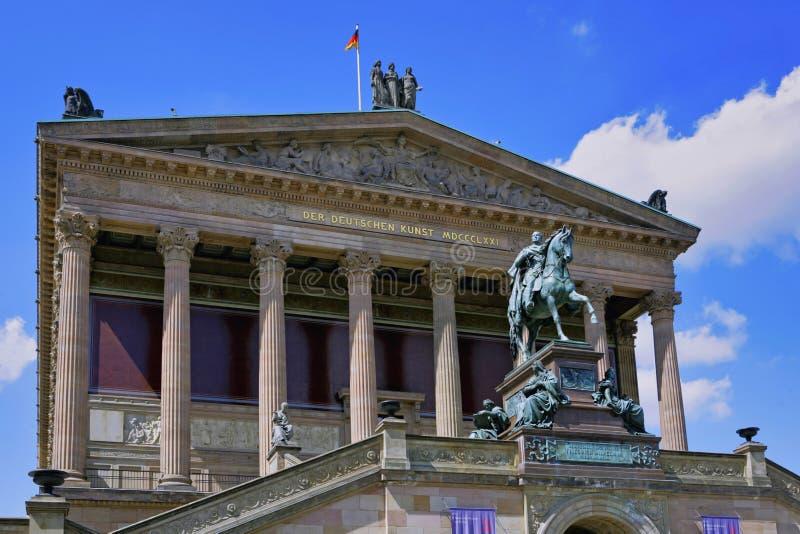 Старая национальная галерея, Берлин, Германия стоковое фото rf