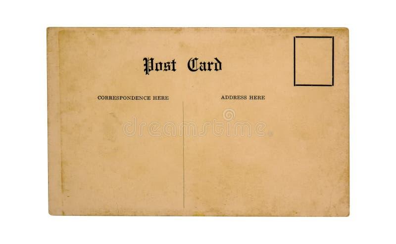 старая открытка стоковое фото rf