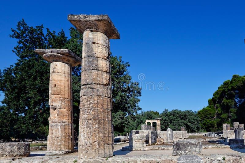 Старая Олимпия стоковые изображения rf