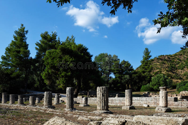 Старая Олимпия стоковые изображения