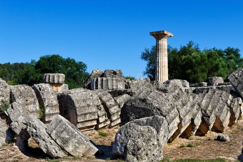 Старая Олимпия стоковое фото rf