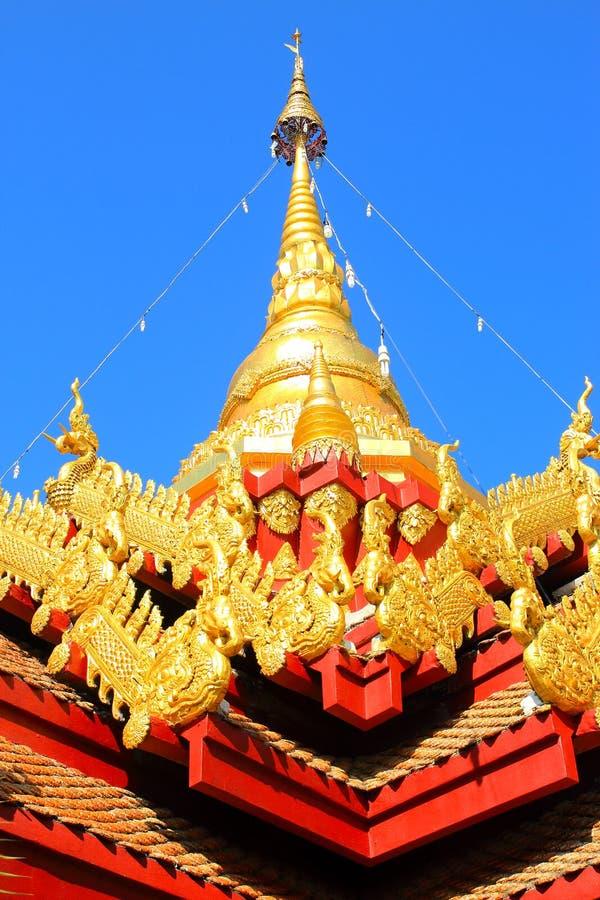 Старая пагода, Таиланд стоковые фотографии rf