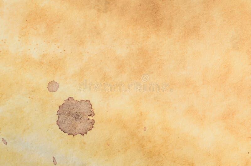 Старая пакостная бумажная текстура страницы стоковое фото rf