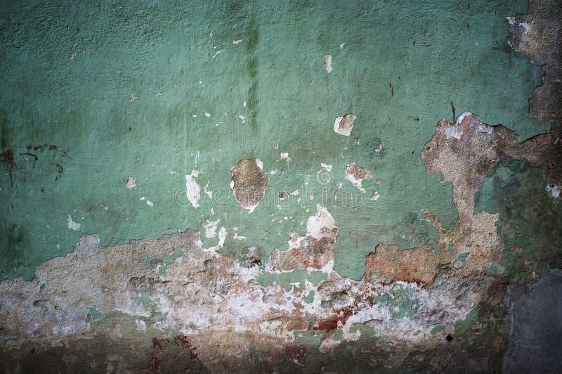 Старая поврежденная предпосылка стены grunge стоковые изображения