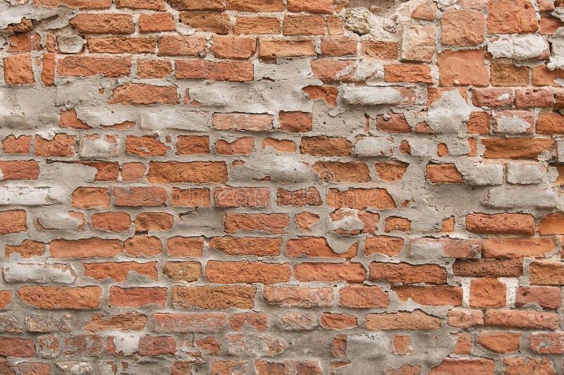 Download Старая покрашенная красная текстура предпосылки кирпичной стены Стоковое Фото - изображение насчитывающей конец, улица: 81800228