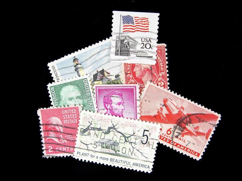 старая почтовая оплата стоковая фотография rf