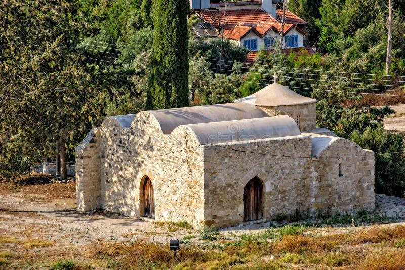Старая православная церков церковь на Кипре стоковые изображения rf