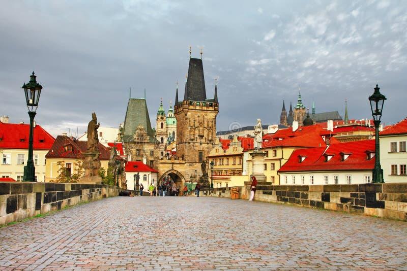Старая Прага стоковые фотографии rf