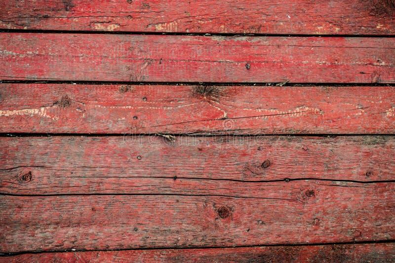 Старая предпосылка, треснутая поверхность, краска с царапинами, намочила покрашенные древесину и доски стоковое фото rf