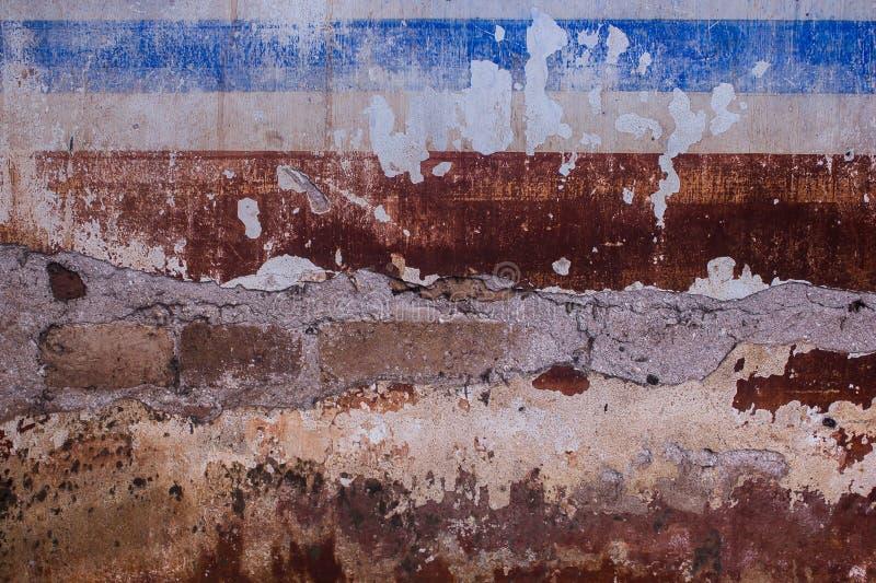Старая предпосылка года сбора винограда стены цемента стоковая фотография rf