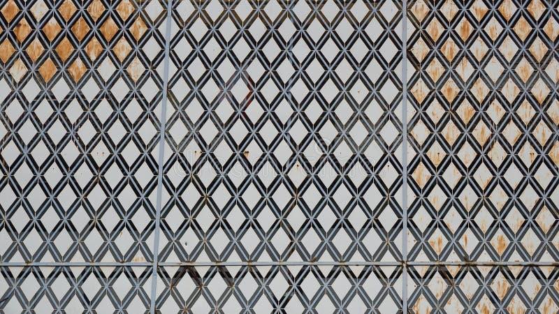 Старая предпосылка сетки металла стоковое изображение rf
