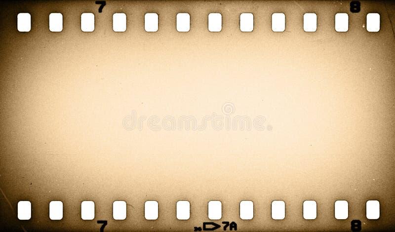 Старая прокладка фильма grunge иллюстрация штока