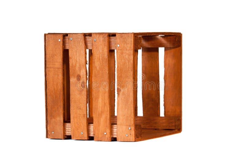 Старая пустая деревянная клеть стоковая фотография