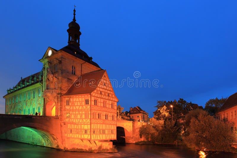 Старая ратуша в Бамберг стоковые фотографии rf