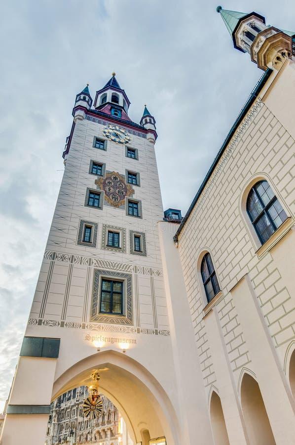 Старая ратуша в Мюнхен, Германии стоковое изображение rf