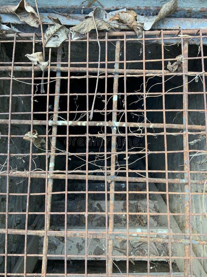Старая решетка металла стоковая фотография rf