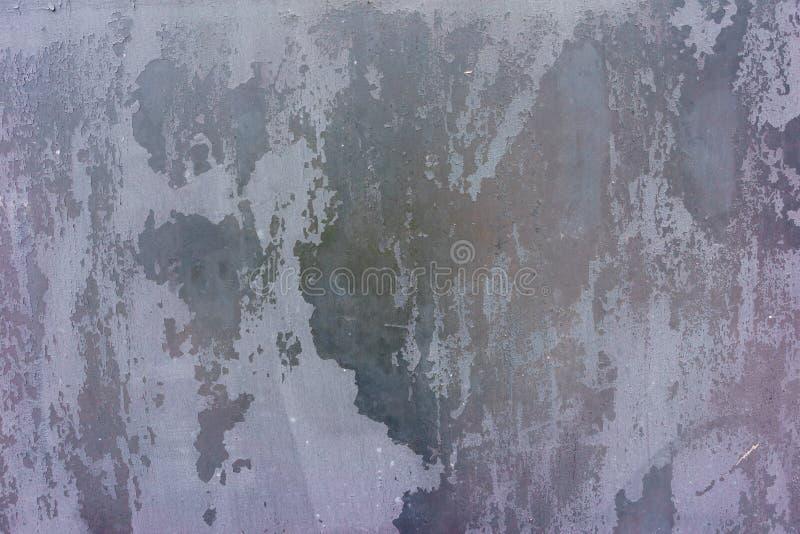 Старая, ржавая поверхность металла Предпосылка темноты Grunge Фото Конца-вверх иллюстрация вектора