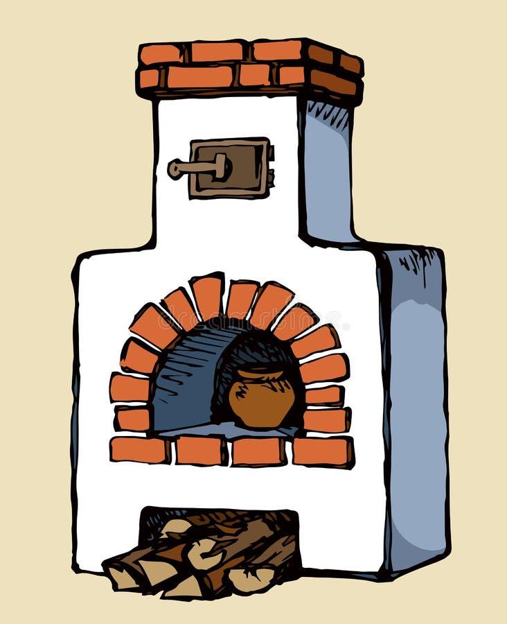картинки печка как нарисовать который хочется снимать