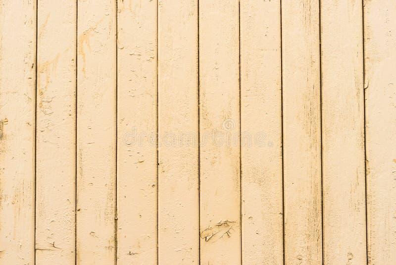 Старая светлая бежевая коричневая деревянная текстура предпосылки стены стоковые изображения