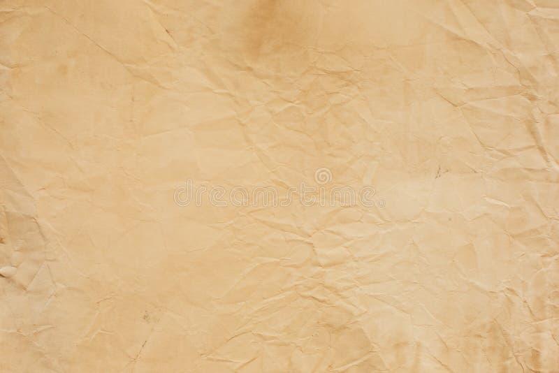 Download Старая скомканная бумажная текстура Стоковое Фото - изображение насчитывающей возрождение, залатано: 37929636