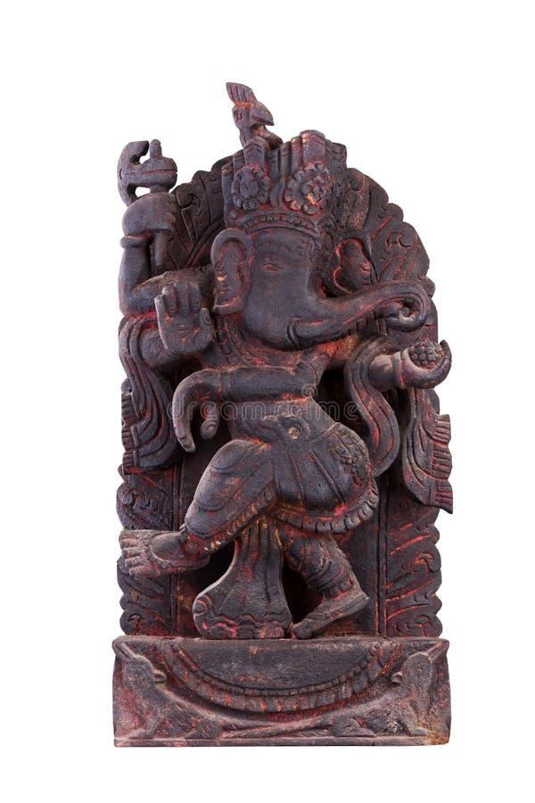 Старая скульптура Ganesh стоковое фото rf