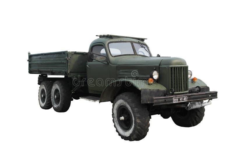 Старая советская воинская тележка стоковое фото rf