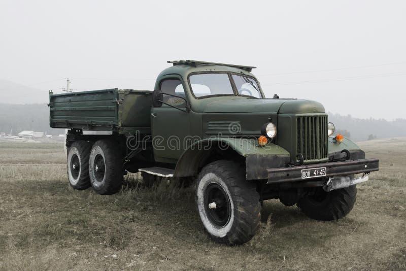 Старая советская воинская тележка стоковые изображения rf