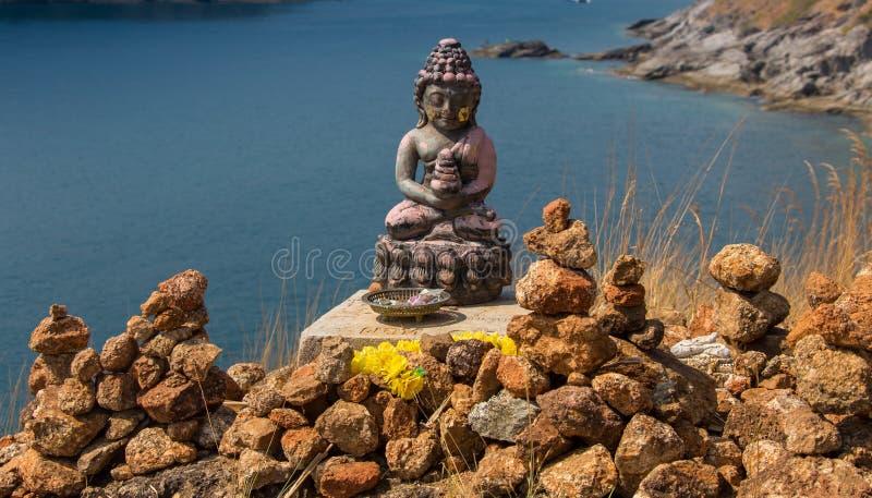 Старая статуя Будды на парке Sukhothai историческом, виске Mahathat, Таиланде стоковые фотографии rf