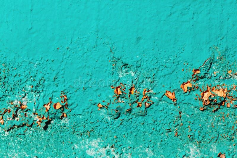Старая стена бирюзы стоковые изображения