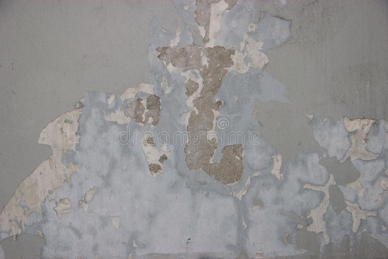 Старая стена расточительствованная и пакостная стоковые фото