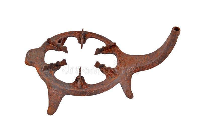 Старая стойка для ся печки (primus) стоковое изображение