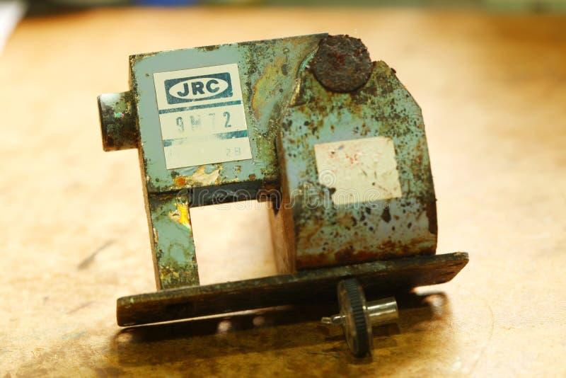 Старая сцена части радиолокатора стоковые фотографии rf