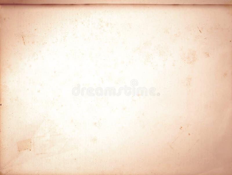 Старая текстура коричневой бумаги с совершенной предпосылкой с космосом для влияния виньетки текста или изображения для старого д стоковое фото