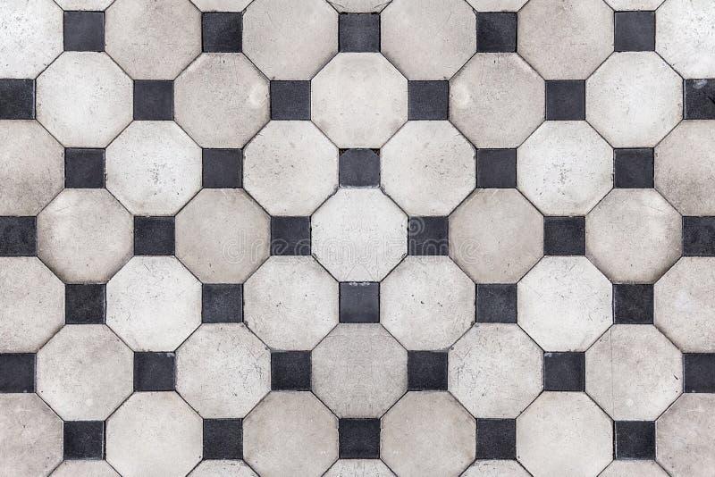 Старая текстура предпосылки плитки безшовной стоковые фотографии rf