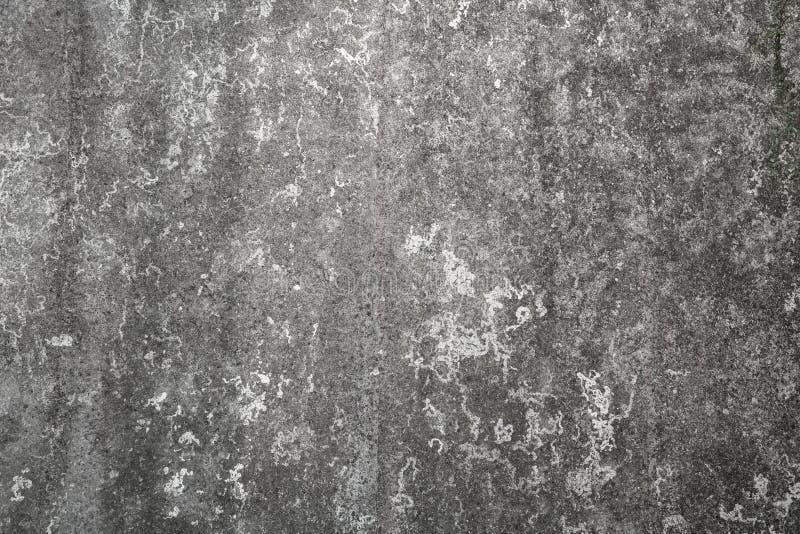 Старая темнота - серая текстура предпосылки бетонной стены стоковые фотографии rf