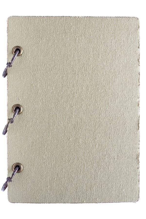 Старая тетрадь изолированная на белой предпосылке стоковые фото