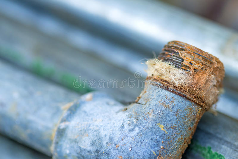 Старая труба стоковая фотография