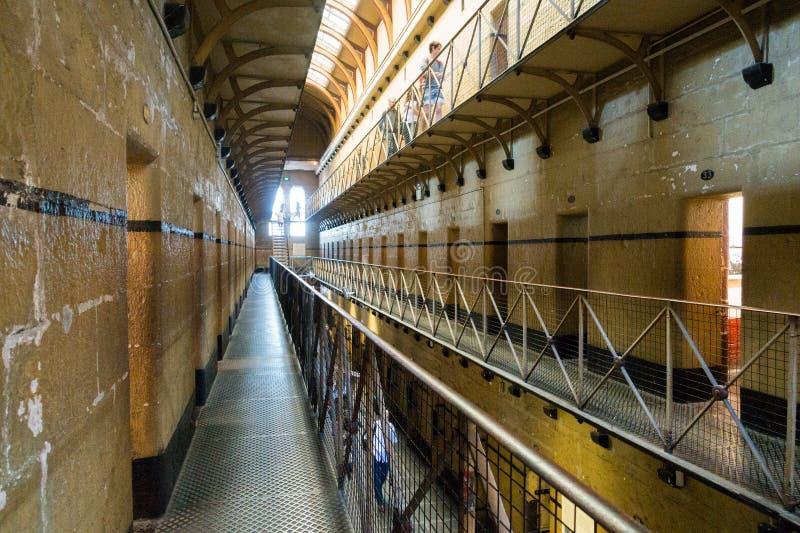 Старая тюрьма Мельбурна стоковое изображение rf