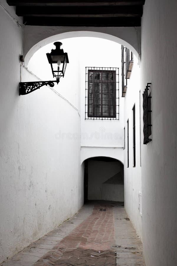 Улица в Севил стоковое изображение