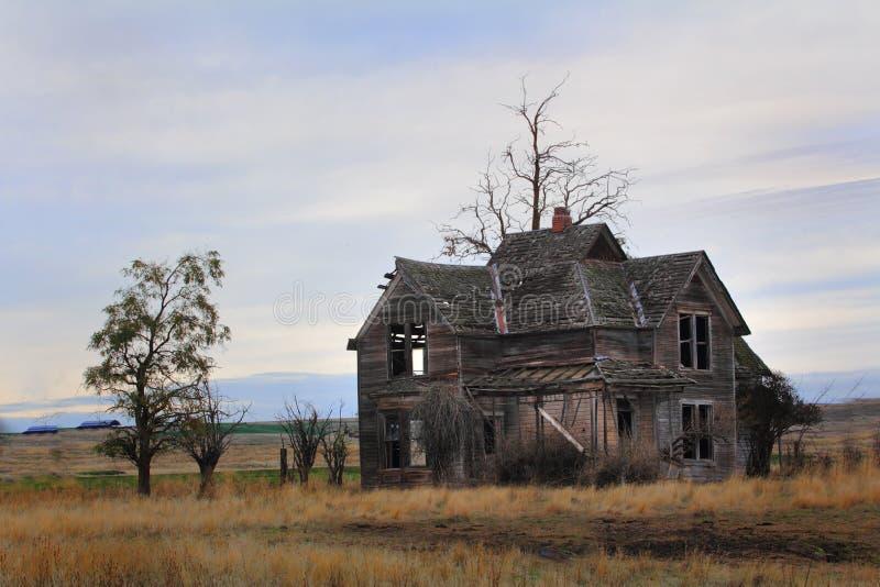 Старая усадьба границы стоковое фото