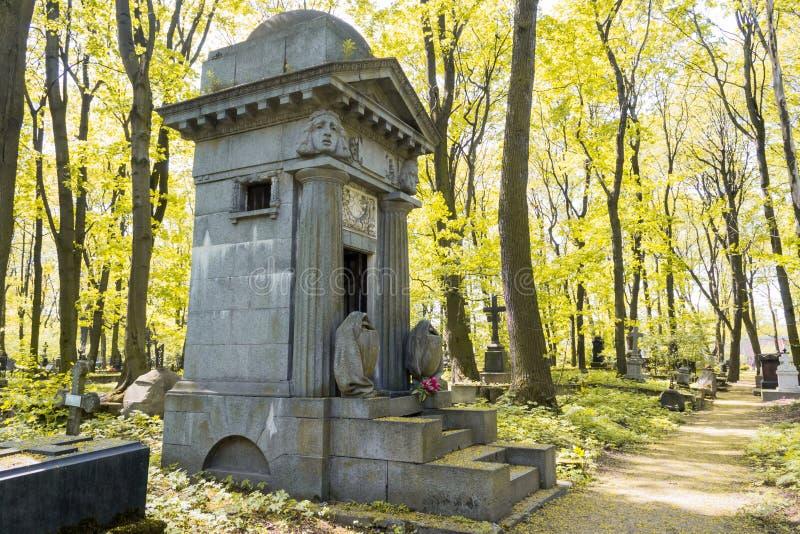 Download Старая усыпальница в лесе осени Стоковое Фото - изображение насчитывающей кладбище, антиквариаты: 41651288