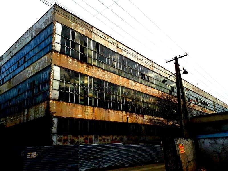 Старая фабрика & x28; new& x29; стоковые изображения