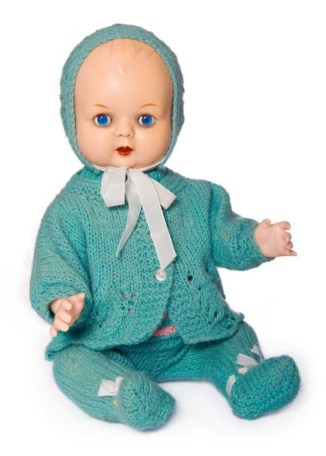 старая фасонируемая куклой стоковая фотография rf