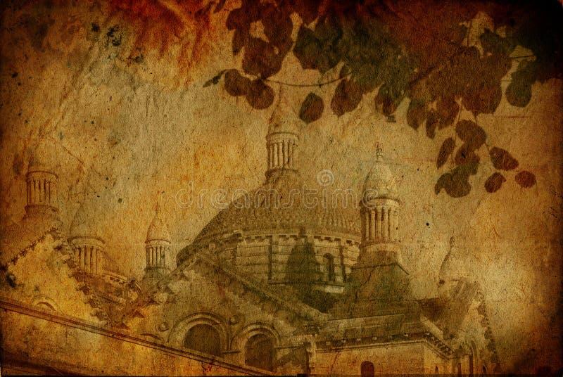 старая фасонируемая церковью бесплатная иллюстрация