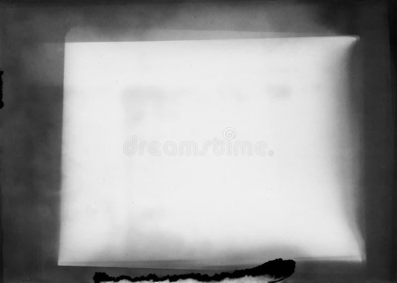 Старая фотографическая бумага полезная как слой в редакторе фотографий стоковое изображение rf