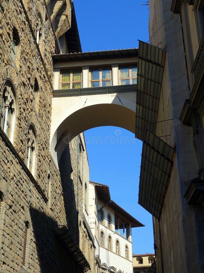 Старая флорентийская архитектура стоковое изображение rf