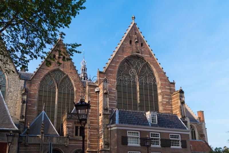 Старая церковь в Амстердаме, Нидерландах стоковое изображение