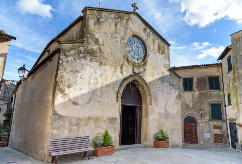 Старая церковь в Италии стоковые фото