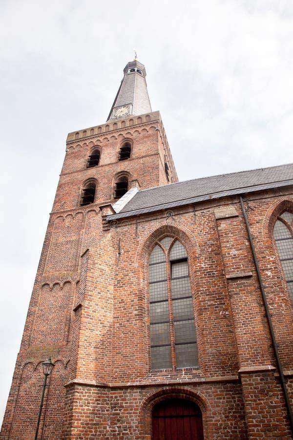 Старая церковь в Barneveld в Нидерландах стоковые фото