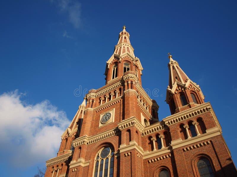 Старая церковь стоковая фотография rf
